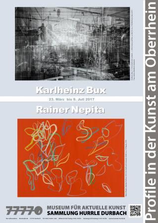Karlheinz Bux | Rainer Nepita : Profile in der Kunst am Oberrhein