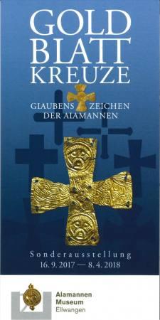 Goldblattkreuze – Glaubenszeichen der Alamannen