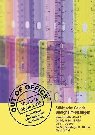 Out of Office. Büro-Kunst oder das Büro im Museum Ausstellung Bietigheim-Bissingen