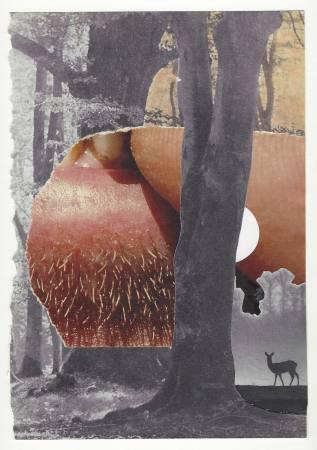 Einbrechende Idylle. Malerei und Papierarbeiten von Martin Bronsema. Ausstellung Hamburg