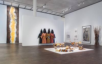 """05.03., 19 Uhr: Artist Talk """"Indigenous Contemporary"""" mit Nici Cumpston und John Mawurndjul"""