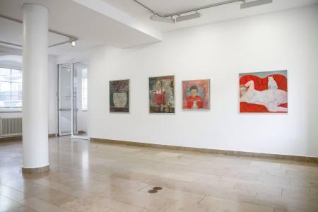 Gertraut Ellinger. Irdische Paradiese Ausstellung Heilbronn