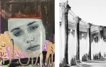 2 x 2.zwei Doppelausstellungen mit 4 Positionen junger Kunst.Teil II.Johannes Daniel/Daniel Poller Ausstellung Berlin