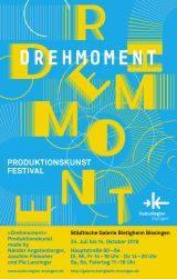 »Drehmoment« Produktionskunst made by Nándor Angstenberger, Joachim Fleischer und Pia Lanzinger Ausstellung Bietigheim-Bissingen