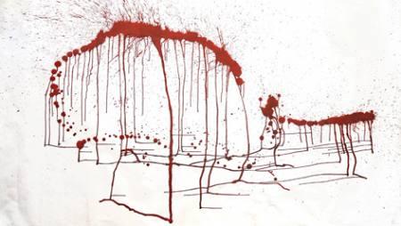 ZU_FALL - Malerei von Rud Witt
