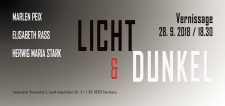 Licht & Dunkel Ausstellung Kunstsalon 5, Josef-Jägerhuber-Strasse 5, 1. OG, 8