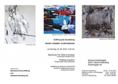 BAUER | DONNER | IN DER WIESCHE Ausstellung Übach-Palenberg