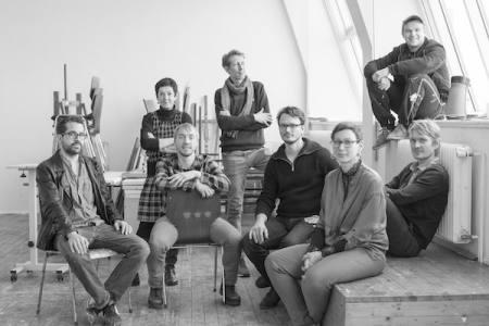 Konvoi - Annette Schröter und Meisterschüler Ausstellung Erfurt