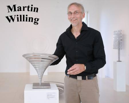 Martin Willing: Künstlergespräch Ausstellung Mainz