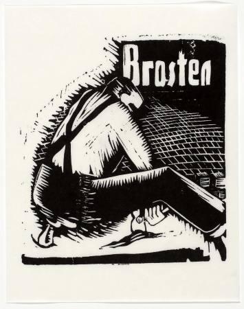 Asgar Jorn: Linocuts 1933 – 1939 Ausstellung Berlin