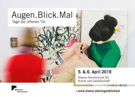 Alanus Hochschule - Augen.Blick.Mal 2019 Ausstellung Alfter