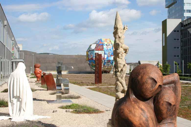 Skulpturenpark wird ständig erweitert