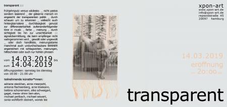 transparent ::: thematische Gruppenausstellung