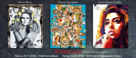 Gruppenaustellung: Devin Miles, David Tollmann, David Badia Ferrer Ausstellung Berlin