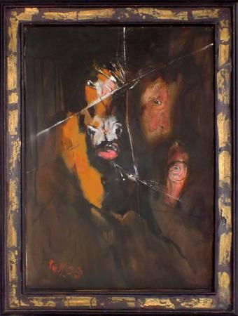 Malerei von Heinrich Tessmer - Verkaufsausstellung