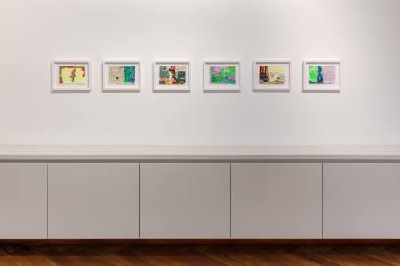 Hayley Tompkins - LB. Ausstellung Hamburg