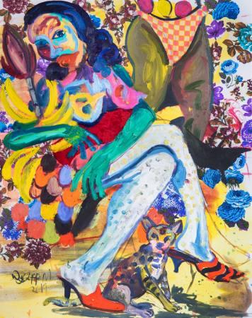 Wycliffe Mundopa & Gresham Nyaude: Day & Night Ausstellung Berlin