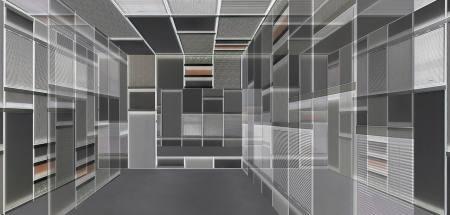 Annett Zinsmeister - Structures und Hans Kotter - Reflections Ausstellung Duesseldorf