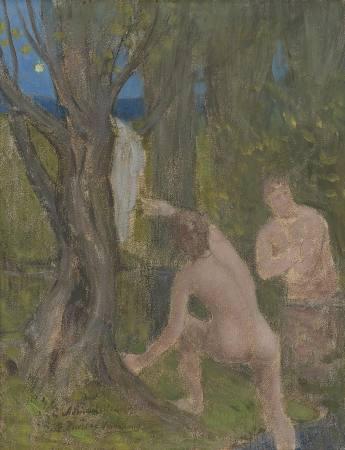 Puvis de Chavannes Ausstellung Koeln