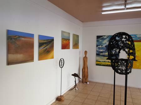 gefühlte Landschaften offene Galerie zum kennenlernen Ausstellung Huerth