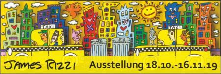 James Rizzi - Besser als Aktien Ausstellung Darmstadt