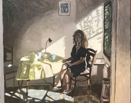 Polina Barskaya: Paintings Ausstellung Berlin