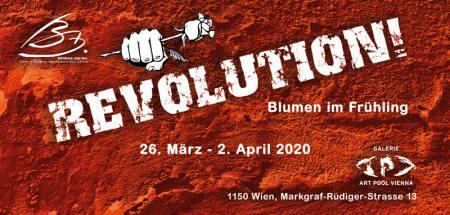 REVOLUTION! - Blumen im Frühling Ausstellung Galerie ART POOL VIENNA Markgraf-Rüdiger-Strasse 1