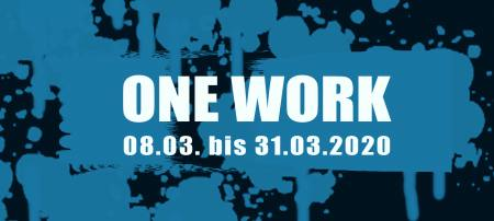 Gruppenausstellung One Work  Ausstellung ART Stalker - Kunst+Bar+Events - Kaiser-Friedrich-