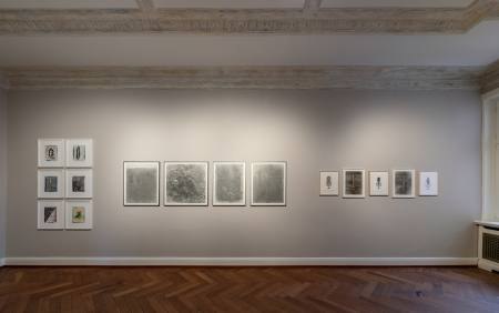 The Body of Drawing #1- The Touch of Density  Ausstellung Hamburg