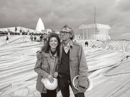 Christo and Jeanne-Claude Ausstellung Berlin