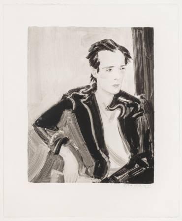Elizabeth Peyton   Colin   Last available one Ausstellung Nuernberg