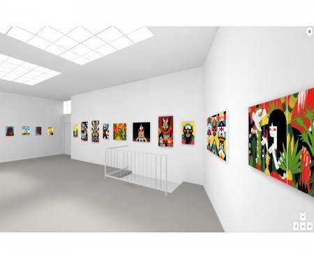KICK OFF - ROMAN KLONEK Ausstellung München