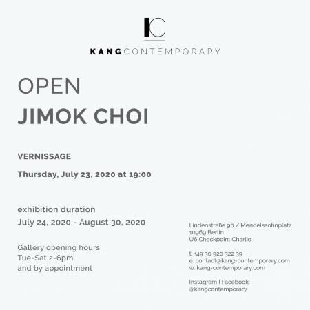 OPEN - JIMOK CHOI Ausstellung Berlin