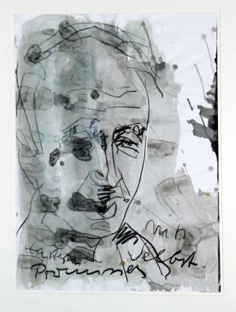 Armin Mueller-Stahl - Menschenbilder Ausstellung Englische Kirche Bad Homburg Ferdinandstraße 16, 6