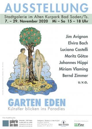 Garten Eden - Künstler blicken ins Paradies Ausstellung Bad Soden/Ts.
