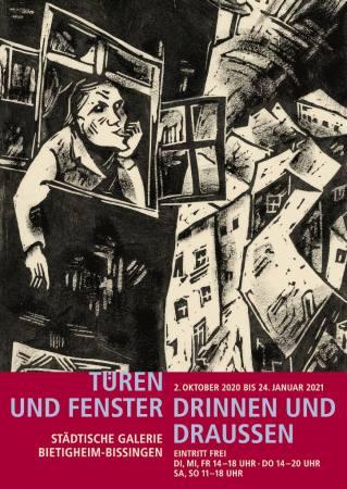 Einblick in die Sammlung: Türen und Fenster - Drinnen und Draußen - Galerie geschlossen -  Ausstellung Bietigheim-Bissingen