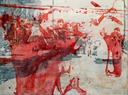 Grenzerfahrung - Peer Boehm. Malerei und Zeichnung Ausstellung Berlin