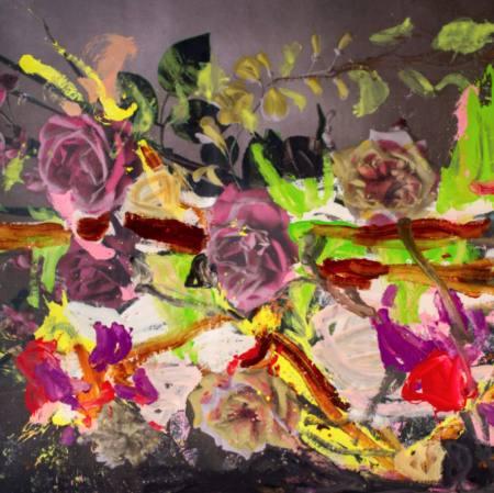 JORGE GALINDO: POSTCARD PAINTINGS Ausstellung Murnau