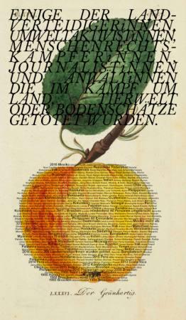 Ines Doujak - Landschaftsmalerei  Ausstellung Wien