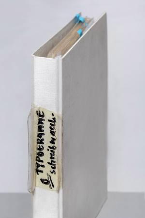 Claus Böhmler TYPOGRAMME - Schreibmaschine Ausstellung Hamburg