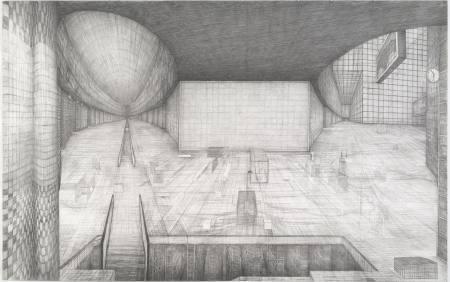 Bewegte Zeichnung - Robbie Cornelissen  Ausstellung Mannheim