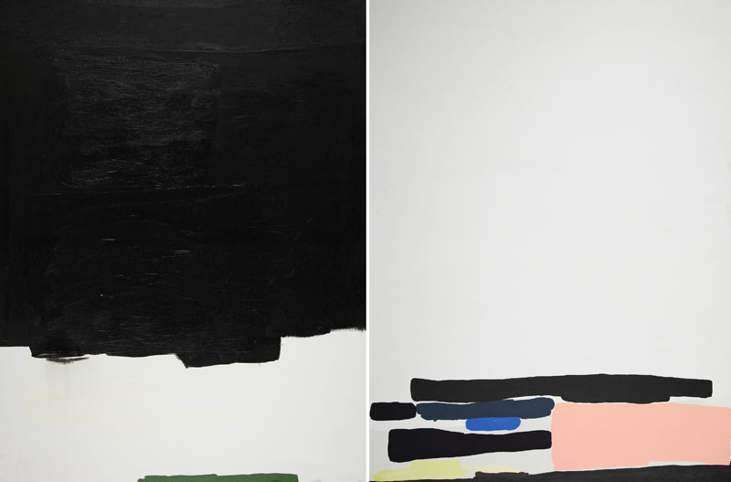 Dracula, a Snake and Narcissus walk into a bar... - paintings and notebooks