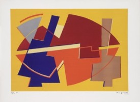 Alberto Magnelli - Pittore Fiorentino. Grafiken 1950-1970