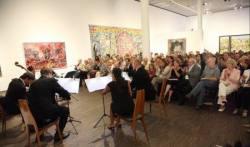 Kiez-Konzert inmitten der Kunst