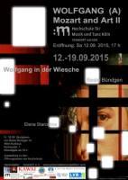 WOLFGANG (A) | Mozart and Art II | Wolfgang in der Wiesche | Malerei