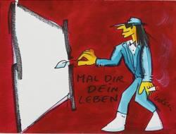 Udo Lindenberg - Ausstellung in der Kunsthandlung Langheinz