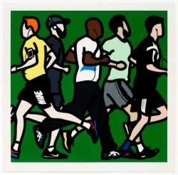 Julian Opie - Running Men
