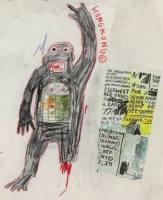 Jean-Michel BASQUIAT - Zeichnungen