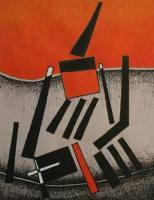 """""""Meister auf Papier"""" - Miró, Chillida, Tàpies, Sempere, Blasco, Saura, Rivera, Victoria und Balart"""