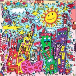 James Rizzi: Good vibrations. Ausstellung in der Kunsthandlung Langheinz